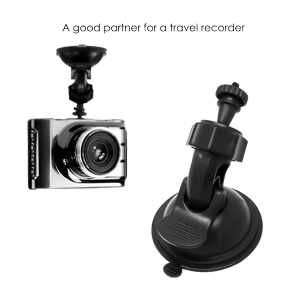 Car Suction Cup Mount Camera DV Tachograph Bracket Stand Car Video Recorder Driving Recorder Car Bracket Thread Mouth
