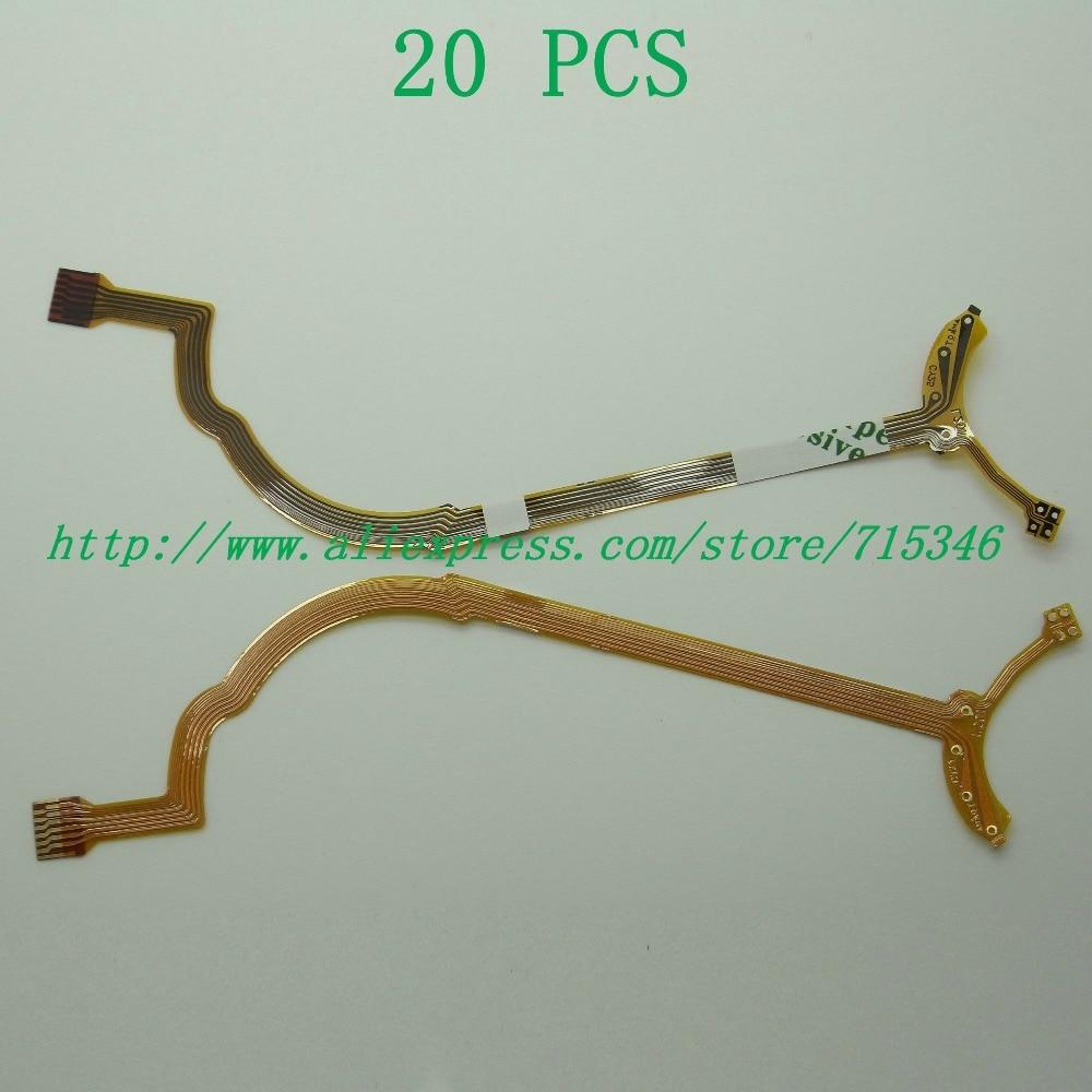 20PCS NEW Lens Aperture Flex Cable For Canon EF 28 135mm 28 135 mm Repair Part