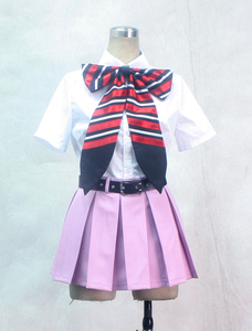 Image 2 - S 3XL Can be tailored Anime Ao no Exorcist Cosplay Man Woman Halloween Cos Shiemi Moriyama School uniform Cosplay Costume