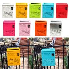 Настенный почтовый ящик «Вилла» винтажный журналы держатель