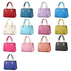 Image 3 - Wobag женские сумки на плечо, женская сумочка из искусственной кожи, сумка для женщин, роскошные сумки, дизайнерская сумка тоут, темно синяя/розовая