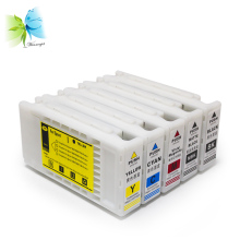 лучшая цена 350ml with newest chip ink cartridge for epson, compatible ink cartridge with one time use chip for epson sc-t3070 printer