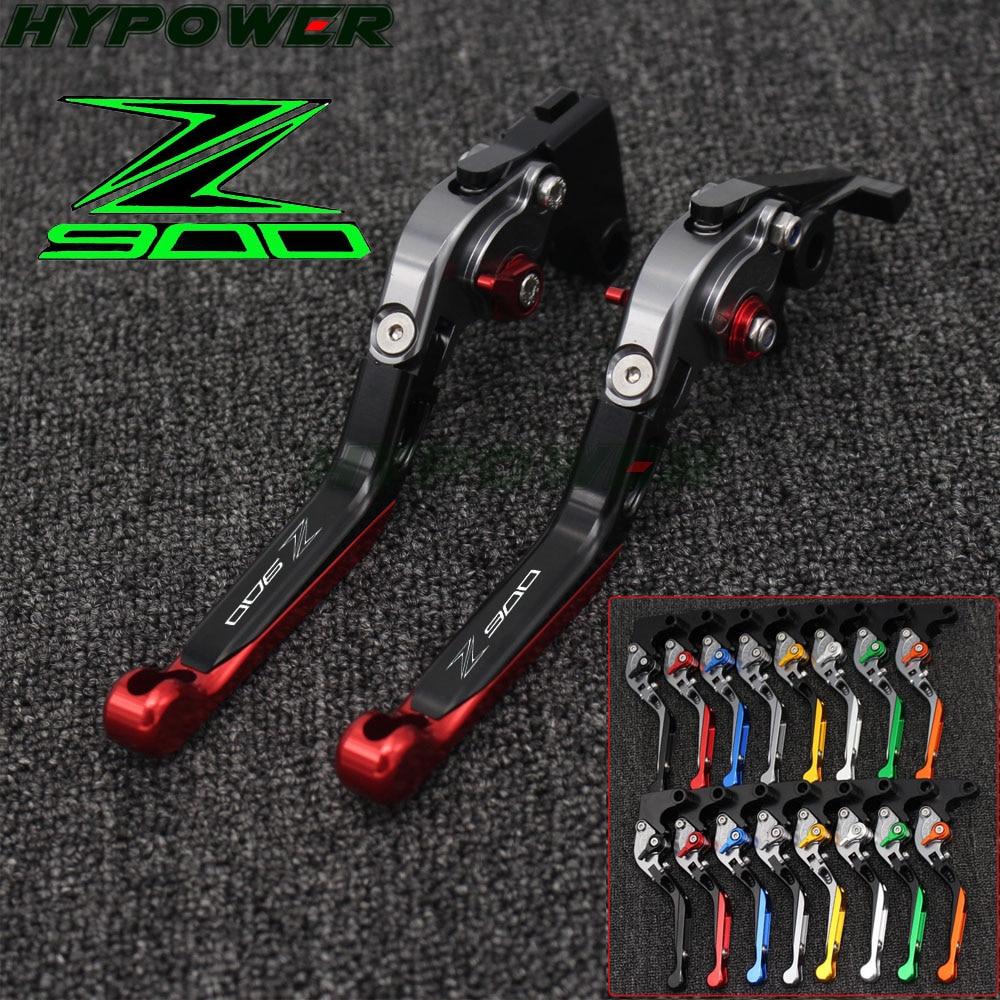Leviers de frein et dembrayage pour moto/ /Pour Kawasaki Z900 2017 /Pliables r/églables et extensibles/