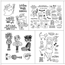Character design Transparent Silicone Stamp for DIY Scrapbooking/Photo Album Decorative Card Making Clear Stamps Supplies