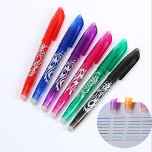 4 pieces/set. Student Stationery 8 Style Rainbow Erasable Pen New Bestseller Creative Drawing Ball Pen Gel Pen Refill Gift Set never watercolor collection cards set desktop calendar schedule foil post with gel pen acrylic base creative gift stationery