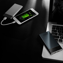 10000 mAh Power Bank Dual USB Type-c Output Smart Digital Display External Phone Battery for Iphone 8 X Fast Charging