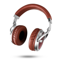 OKCSC S6 Wooden Wired Headphone Stereo Rosewood Super Bass HIFI Headset 50mm Speaker 3.5mm Plug Change Cable for xiaomi Huawei