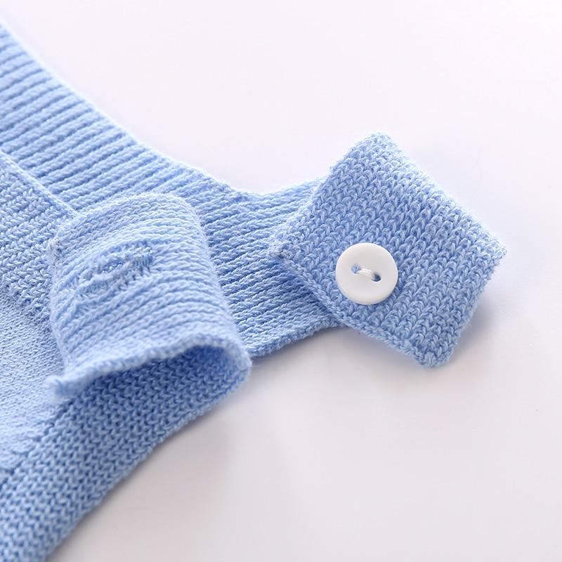 AuroMesa Newborn Baby Knitting Clothes Body niemowlęce z dzianiny - Odzież dla niemowląt - Zdjęcie 3