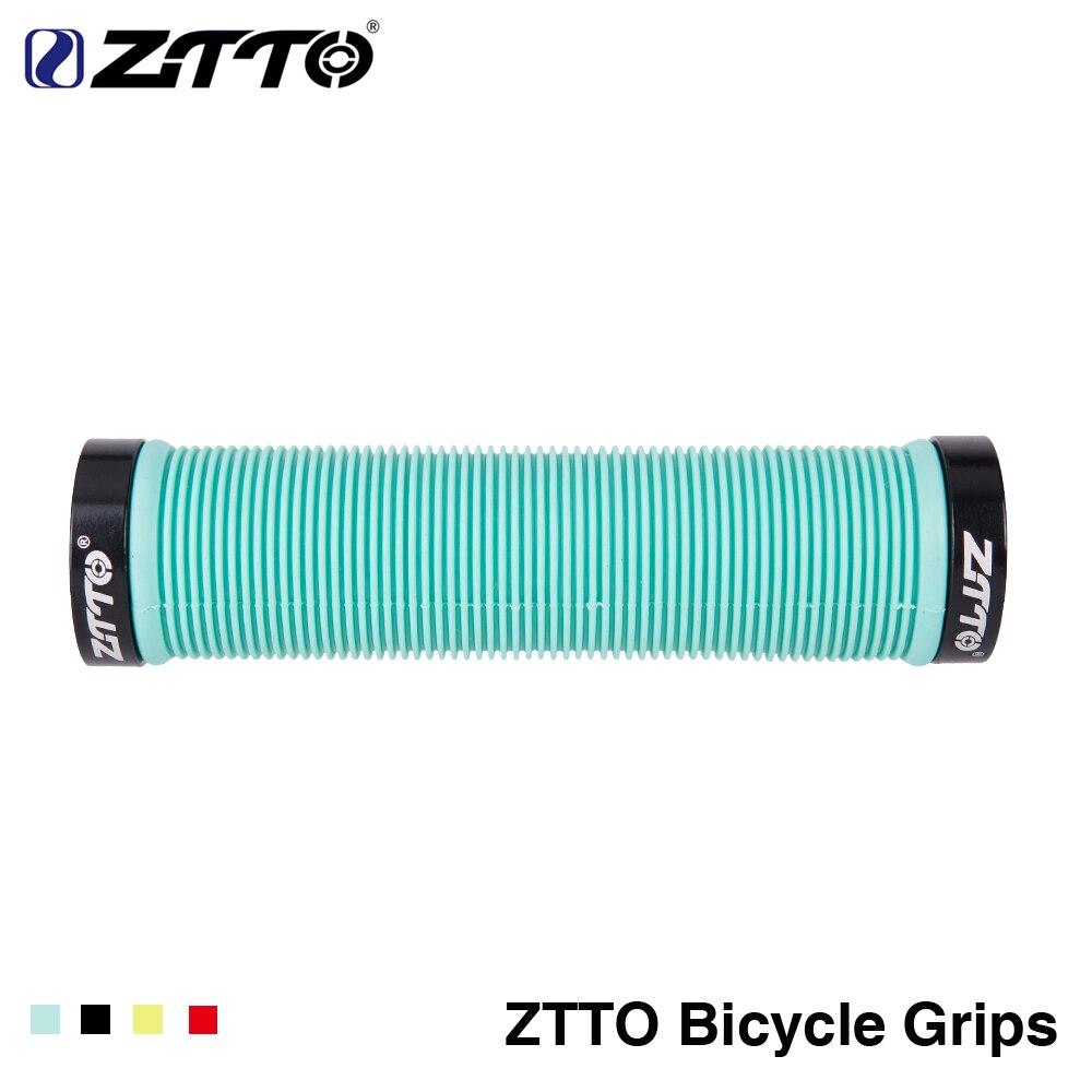 1 paire ZTTO VTT Guidon Poignées Silicone Gel Verrouillage sur Anti slip Grips pour VTT Vélo Pliant vélo pièces AG15