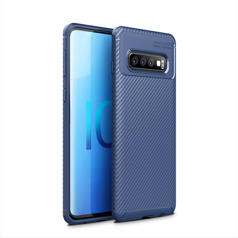 Magnetic Case For Samsung Galaxy S10 Full Front+Back 9H Film Cases Cover Scrub Anti-Fall Phone Case