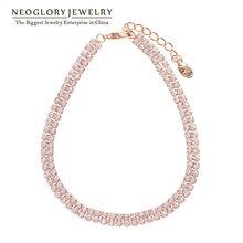 Neoglory розовое золото цвет обертывание бусины Свадьба дружба Boho браслеты для женщин модные индийские ювелирные изделия