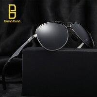 0689a1e620e Bruno Dunn Alumínio Óculos Polarizados Homens Marca De Luxo designer Óculos  de sol para ray zonnebril