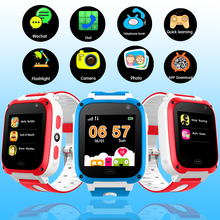 LIGE LED Color Touch Screen Children Smart Watch LBS Positioning Tracker Kids Watches SOS Security Baby Support SIM Card