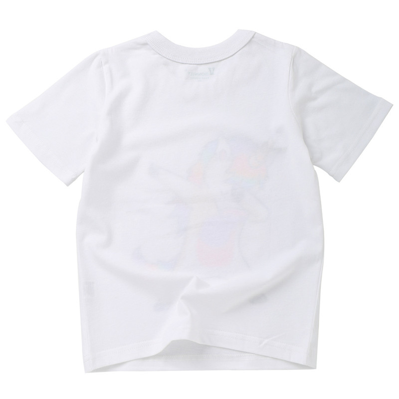 Summer New Unicorn Printing Short Sleeve T-shirt Cotton Baby Boys And Girls Clothes 2-8y Korean Style Round Neck ChildrenT-shirt