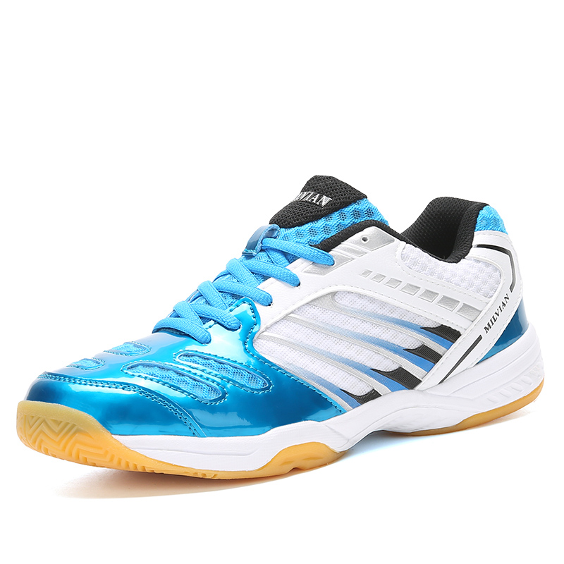 Sneakers Badminton-Shoes Anti-Slippery Training Professional Sport High-Quality Male