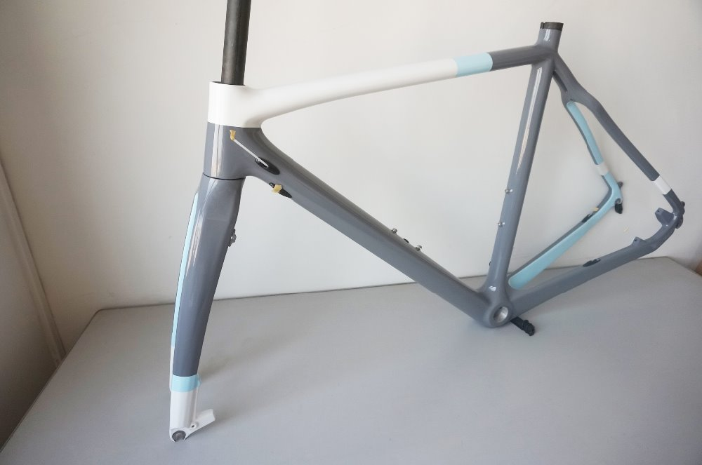 Toray Carbon Fiber Cyclocross Bike Frame Full Carbon Cyclocross ...