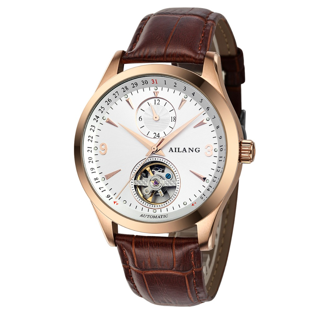 Mens Hollow Automatic Mechanical Watches Fashion Business Men Watch Leather Tourbillon Waterproof Male Wristwatches Reloj Hombre guanqin mens watches men automatic mechanical watches hollow vintage leather strap watch thin waterproof flywheel wristwatches