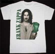 цена на T Shirt Summer Men'S Short Sleeve Frank Zappa Crew Neck Printed Tee