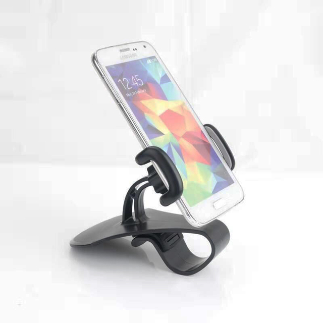 YASOKRO Car Phone Holder Universal Car Dashboard Cell Phone GPS Mount Holder Stand Phone Cradle Clip Car-styling