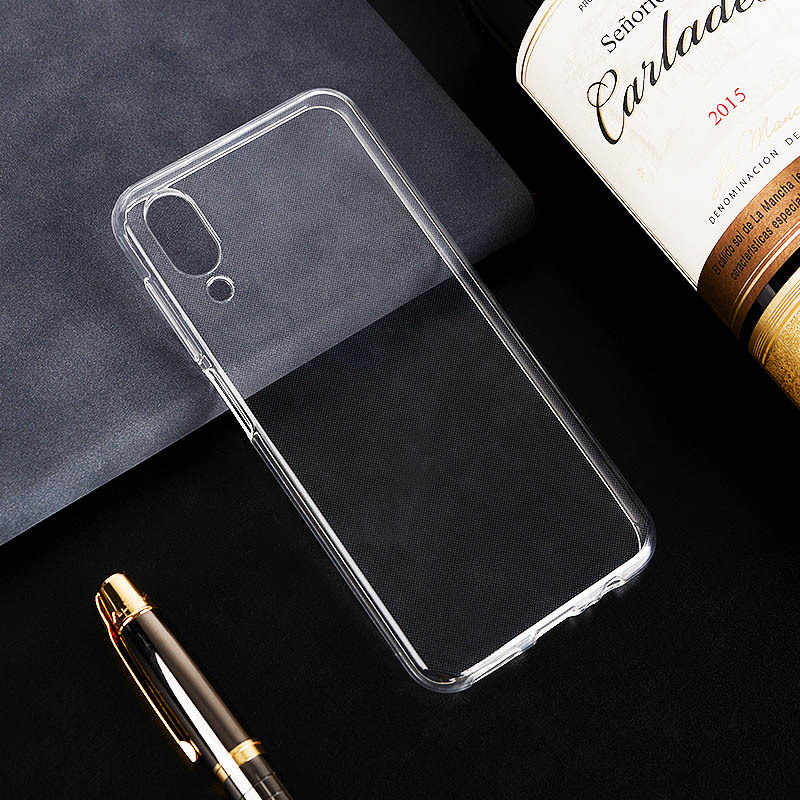 Transparent Glossy Silicone Case For UMIDIGI X One PRO ONE MAX A5 Pro UMIDIGI Power TPU Bumper Back Cover Funda Custodia Housse