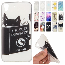 New Soft TPU Cute Cartoon Phone Cases For Huawei Y6 honor 4A Slim Rubber Back Cover