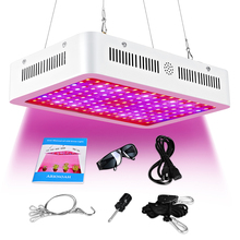 600W LED Grow Light Full Spectrum for Greenhouse Hydroponic Indoor Plants Seeding/Growing/Flowering with Double Chips Growing 2pcs lot 1000w double chips led grow lights full spectrum growing lamps for greenhouse hydroponics systems free shipping