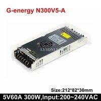 G Energy N300V5 A Slim 300W LED Display Power Supply Size 212 83 30mm 300W LED