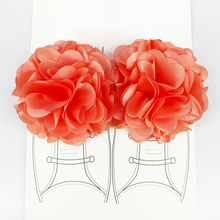 Fashion 1 Pair Handmade Cloth Flowers DIY Shoes Hooks Multi-layers Accessories Artificial Flowers Shoes Decorative Supplies Gift