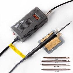 BAKON 950D 75 Вт Электрический паяльник с регулируемой температурой T13 наконечник Паяльник Мини Портативный сварочный ремонтный инструмент
