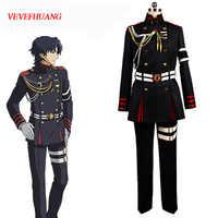 VEVEFHUANG Anime Seraph der ende Owari keine Serafu Guren Ichinose Cosplay Kostüm Uniform Outfit Halloween Kleidung Set