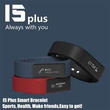 50ชิ้น! i wown I5พลัสสมาร์ทสร้อยข้อมือนาฬิกาบลูทูธ4.0หน้าจอสัมผัสกันน้ำกีฬาติดตามสุขภาพสายรัดข้อมือการนอนหลับการตรวจสอบ , +กล่อง