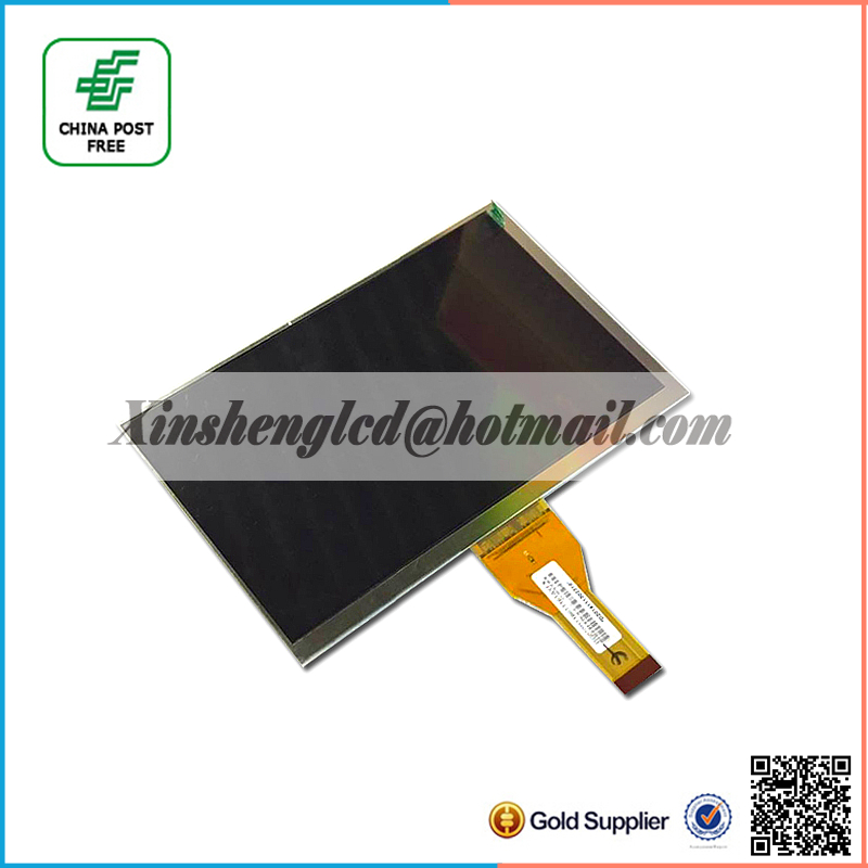 New LCD Display Matrix For 7 AL0722A TABLET 30Pins 163*97mm inner LCD Screen Panel Lens Module replacement Free Shipping new lcd display matrix for 7 supra m72kg 3g inner 163 97mm lcd screen panel lens tablet module replacement free shipping