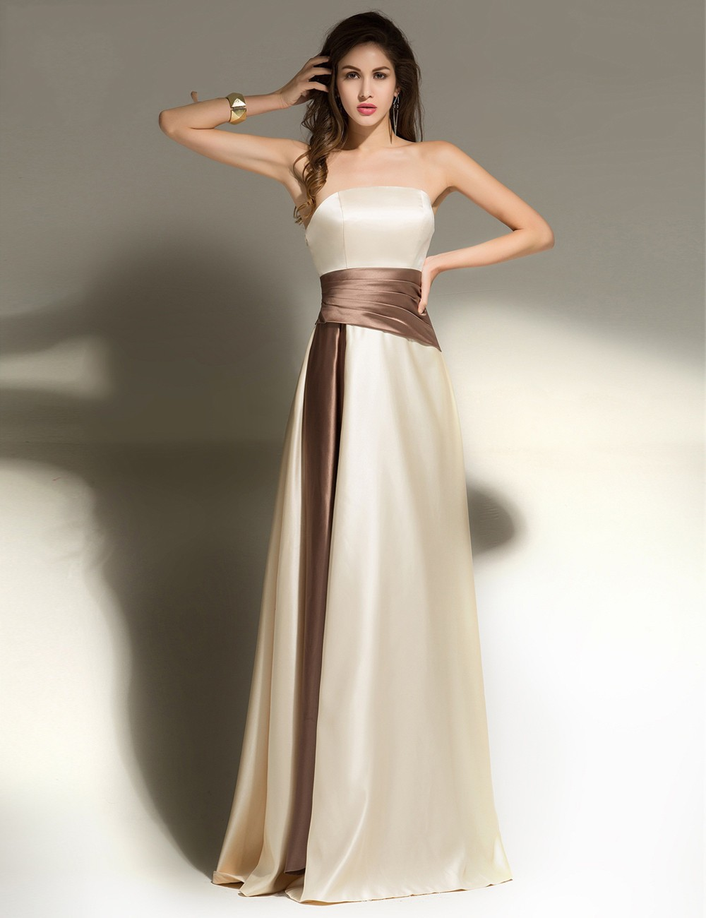 Collection Brown Party Dress Pictures - Reikian
