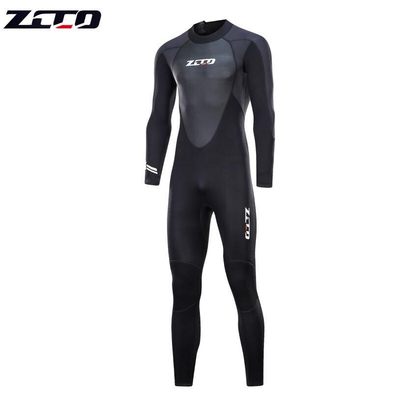 Nouvelle combinaison de plongée sous-marine hommes 3mm combinaison de plongée néoprène combinaison de natation Surf Triathlon combinaison humide maillot de bain combinaison complète - 3