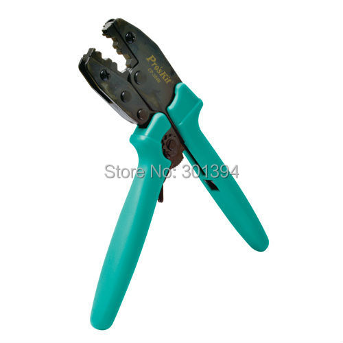 ФОТО Free PP ProsKit CP-230PA Medium Carbon Steel Coax Connectors Crimping Tool Ratchet press plier Hand Tools Repair Tools