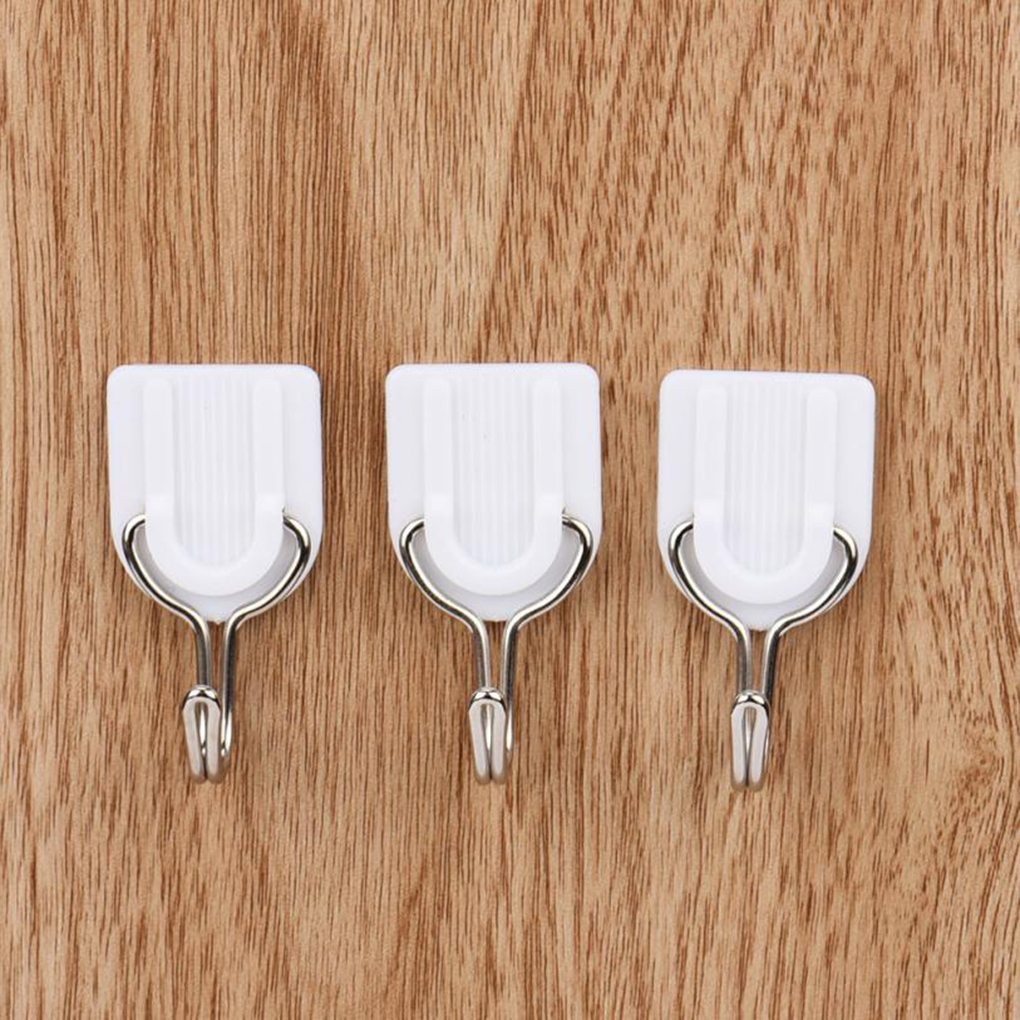 6PCS Removable Bathroom Kitchen Wall Strong Suction Cup Hook Hangers Vacuum Sucker Sucker Wall Hooks Hanger For Kitchen Bathroom