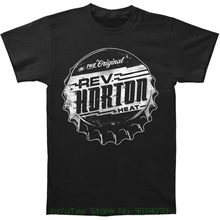 High Quality Casual Printing Tee Reverend Horton Heat Men's Soda Pop Top T-shirt Black(China)