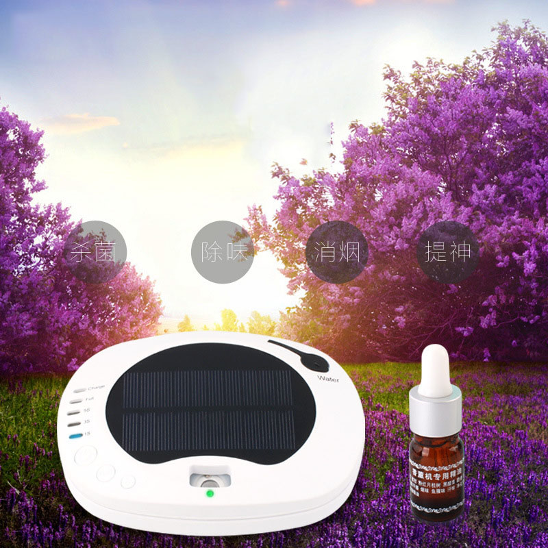 AU-1 Negative Ion Aroma Air Purifier Humidifier For Home Car Solar Air cleaner 3 Colors Sterilization and Remove formaldehyde free shipping made in china usb solar recharger car air purifier heoa filter to get wet and aroma from ohmeka