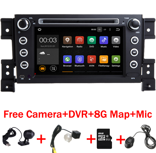 2 din android 7 11 car DVD player for Suzuki grand vitara multimedia car font b