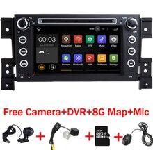 2 DIN Android 7.11 dvd-плеер автомобиля для Suzuki Grand Vitara мультимедийный Автомагнитола Стерео GPS с Руль Камера DVR Географическая карта