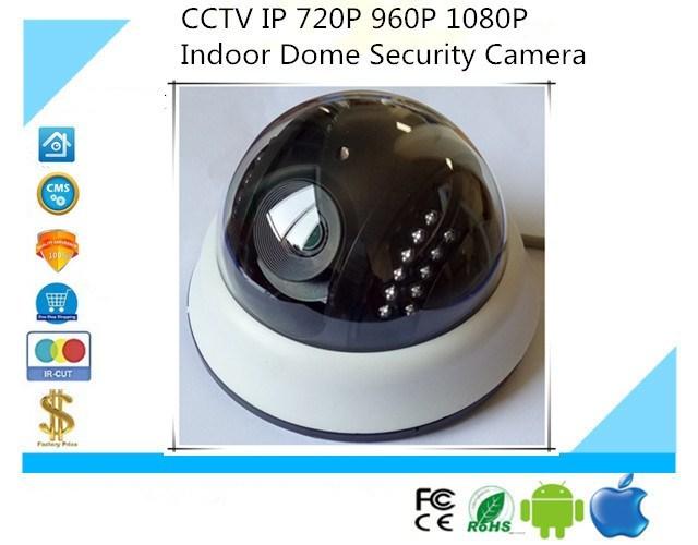 HD IP POE Audio Camera 720P 960P 1080P Infrared IRC NightVision Network Onvif H.265/H.264 XMEYE CMS Surveillance