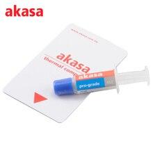 Akasa AK-460 Termicamente Tecnologia Graxa Térmica do Dissipador de Calor Do Dissipador de Calor Composto de Silicone para CPU Cooler de Resfriamento do Dissipador de Calor Pasta