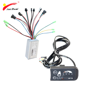36 v חשמלי אופני אופניים בקר תצוגת סט Ebike LED LCD סינוס גל בקר 250 w רכיבים עבור Ebike המרה ערכת
