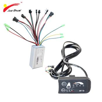 مجموعة التحكم في عرض الدراجة الكهربائية 36 فولت ، وحدة التحكم في موجة جيبية LED LCD ، مكونات 250 وات لمجموعة تحويل دراجة كهربائية