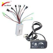Contrôleur à onde sinusoïdale LED W, 36V, écran LCD, Kit de Conversion pour vélo électrique Ebike 250