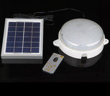 Solar Ceiling Lights: Super Bright Outdoor Solar Lamp, Indoor Household Emergency Ceiling Lamp  Wall lamp, Remote Control Light Control Landscape Light,Lighting