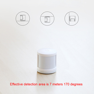 Image 5 - 100% Original Xiaomi Mijia Human Body Sensor Smart Body Movement Motion Sensor Zigbee Connection Mihome App via Android&IOS