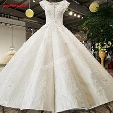21654 Sleeveless Wedding Dress Crystal Beading