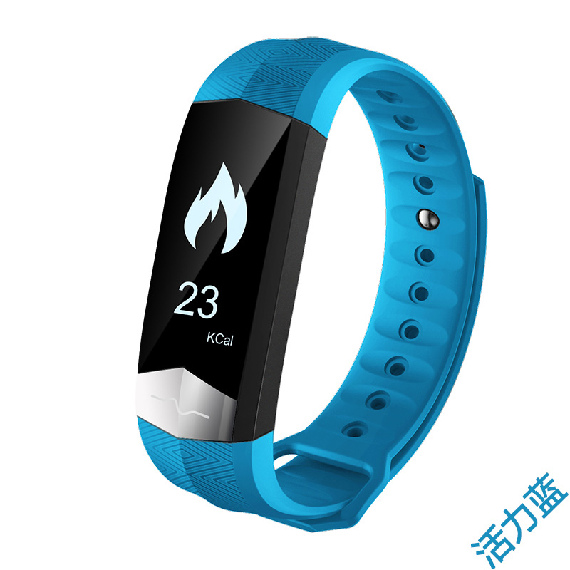 2017 NEW KF-CD01 ECG Blood Pressure Monitor Bluetooth Smart Wristband Sport Fitness Smart Band Bracelet for VIVO Xplay6 / Xplay5