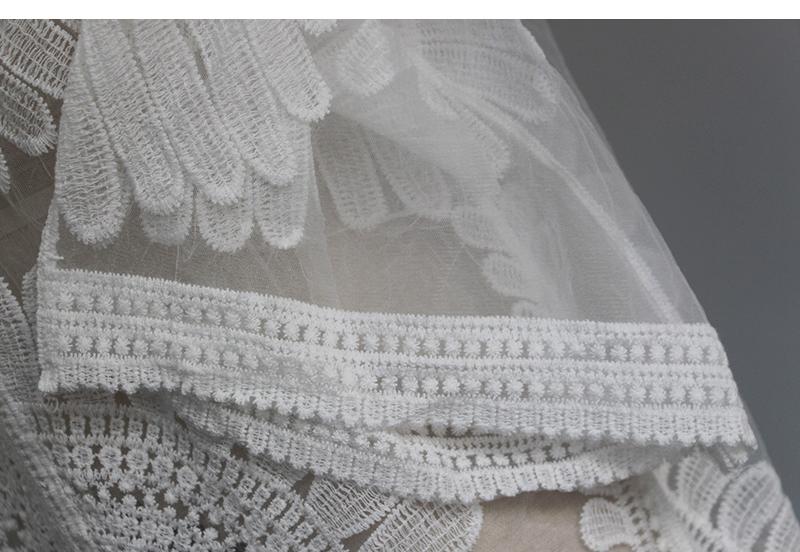 Sexy Sarongs Bikini Beach Tunic Crochet Beach Cover Up Bathing Suit Plus Size White Robe De Plage Swimsuit Women Cover-Ups pareo 12